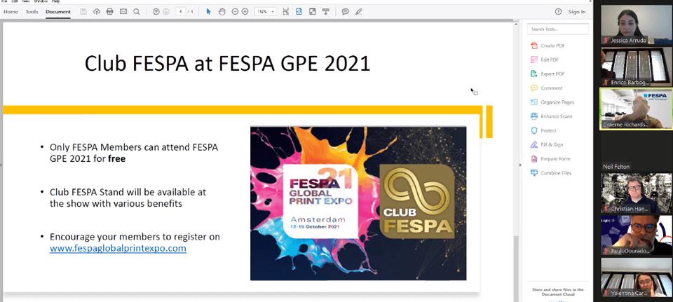 Club FESPA at FESPA GPE 2021